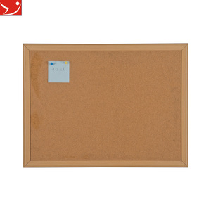 Jiangyin supplier push pins cork board 45*60cm decorative bulletin board