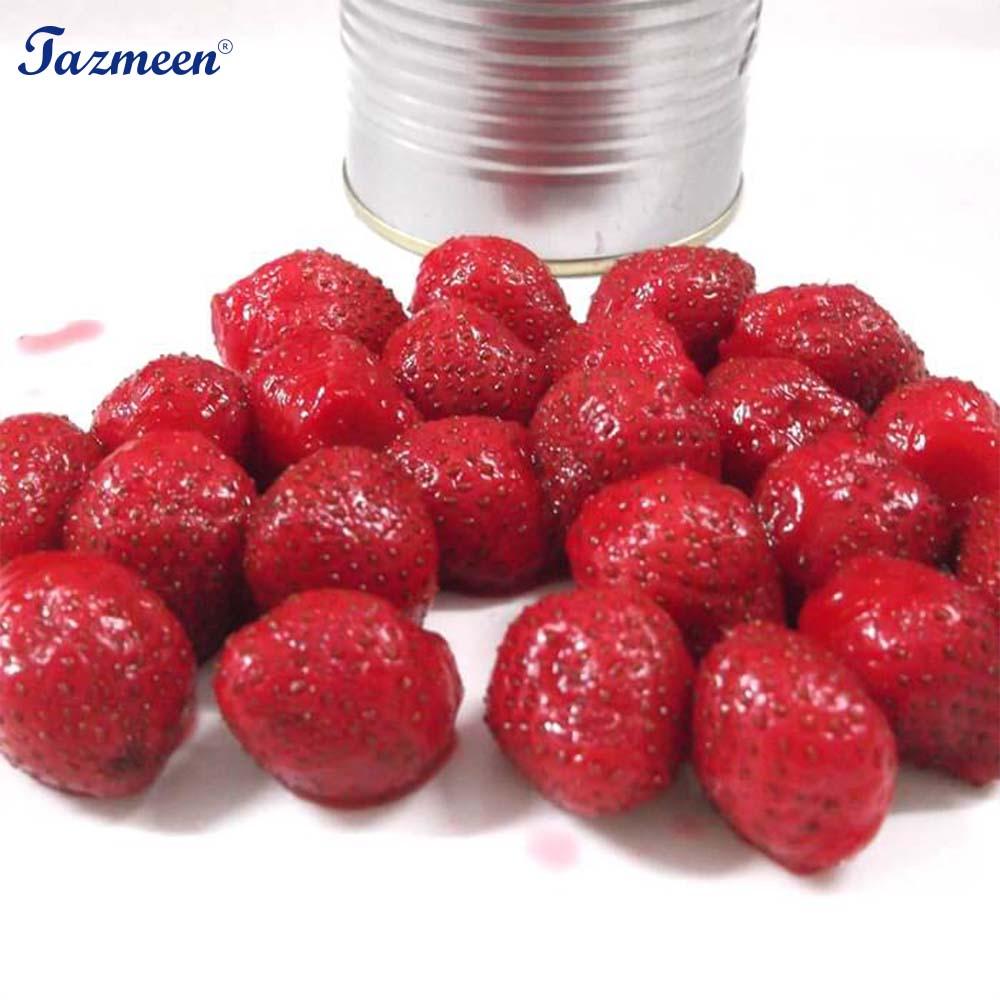 Strawberry Segar Buah Kaleng Kaleng Dalam Sirup Buy Strawberry