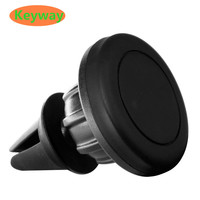 Factory Price Universal 360 degree Mini Magnetic Silicone Car Air Vent Mount Cell Phone Holder