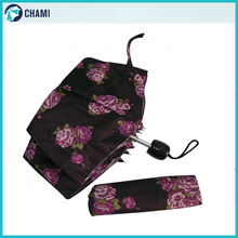 Factory price 3 fold cheap portable umbrella chinese