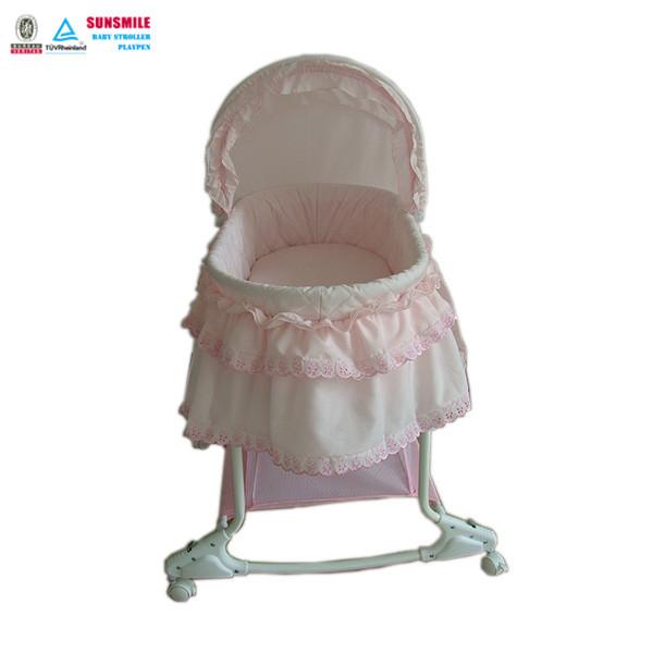 Schommelstoel Baby Roze.Groothandel Draagbare Vouwen Roze Zuigeling Schommelstoel Bed Swing