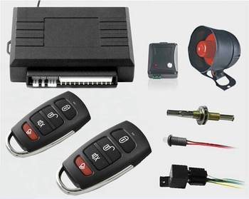 hot selling car alarm system with auto central lock full functions