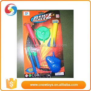 China supplier stomp EVA kids interesting plastic space rocket toy