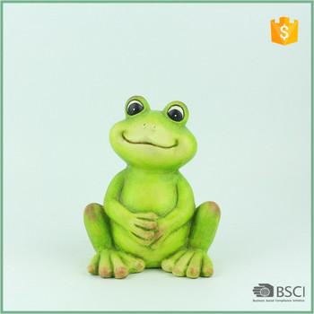 Terracotta Decorative Item Frog Garden Decor