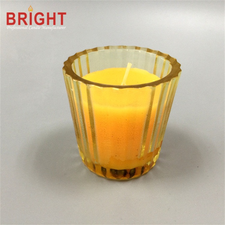 Scented 3% Glass Holder Votive Candle