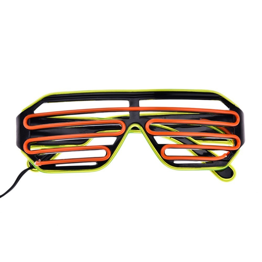 Glow in the Dark Glasses Event Party Supplies Light Up Glasses Led Shutter Glasses