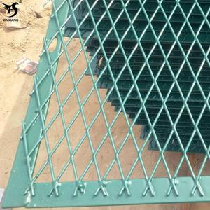 high-security galvanized pvc coated bridge expanded metal wire mesh fence