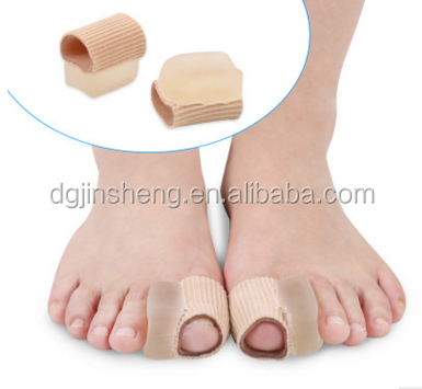 Hot selling Gel toe separating cover gel silicon toe cover sleeve toe cover with low price