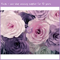 k8427 Wedding backdrop artificial flower for wall decoration paper wall for wedding supplies