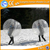 Winter game bumper ball, snow soccer ball bowl/inflatable bubble football