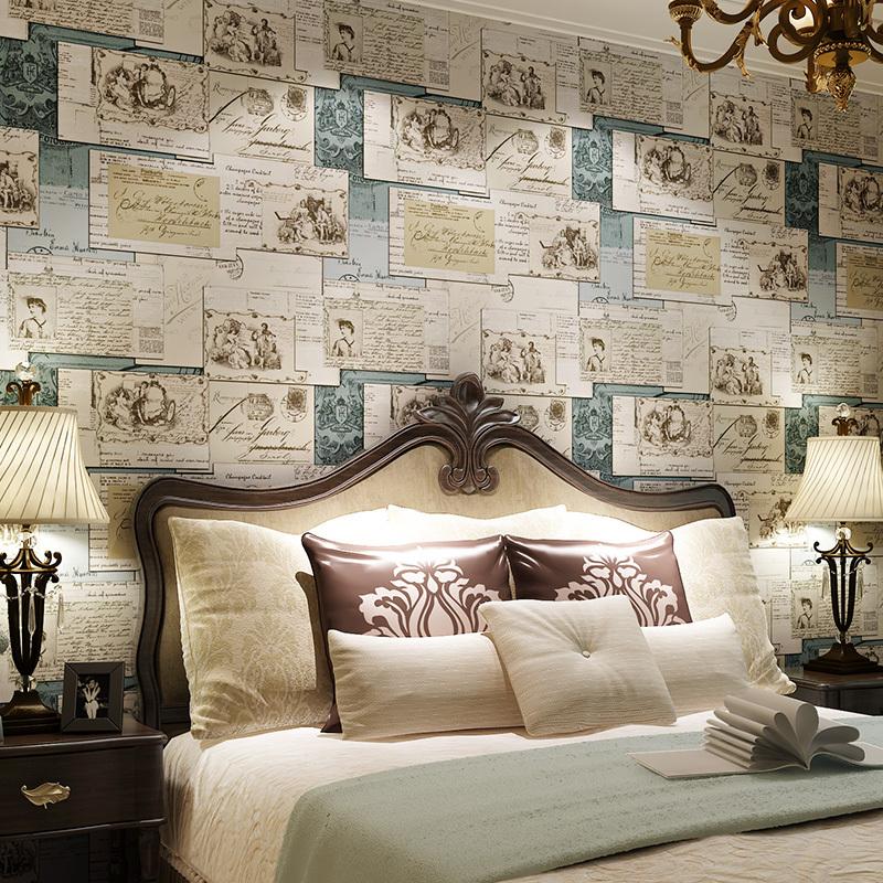 hohe qualit t gro handel vintage tapete gr n aus china vintage tapete gr n gro h ndler. Black Bedroom Furniture Sets. Home Design Ideas