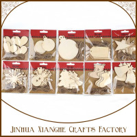 christmas decoration wooden shapes wholesale art minds wood crafts