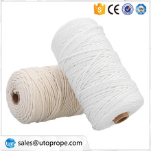 Material cru unwaxed 3mm cotton bakers twine