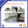 new condition portable industry PVC Business Card Plastic ultrasonic welding gun