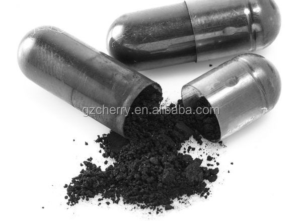 Private label activated charcoal capsules for teeth whitening