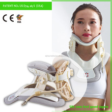 Neck Head Pain Relief Collar Inflatable Cervical Traction Support Brace Device