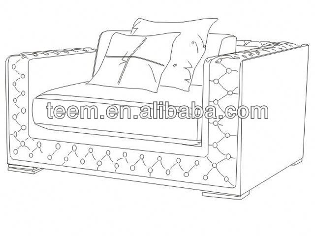 Divany Furniture bedroom furniture LS-117A interior federal style home furniture