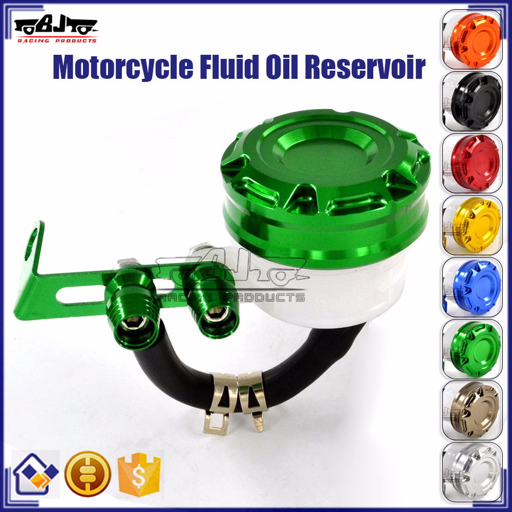 BJ-OC-019 Universal CNC Motorcycle Front Brake Clutch Tank Cylinder Oil Cup Fluid Reservoir