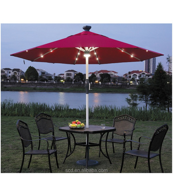 Outdoor Solar Led Light Remote Control Patio Umbrella Buy Patio