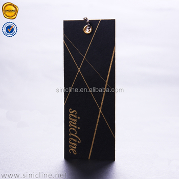 sinicline factory price custom jeans paper hang tags new china hang