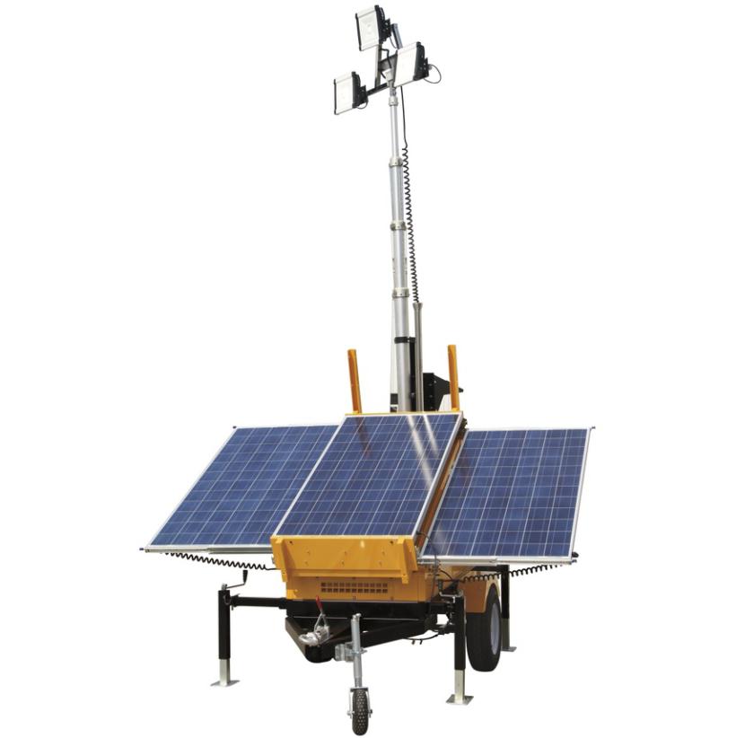 Portable Light Tower Price: Oem Stadium Battery Powered Vehicle Trailer Mounted