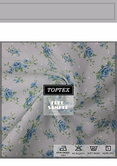 Rhododendron pattern rotary screen print poplin calico fabric made in China