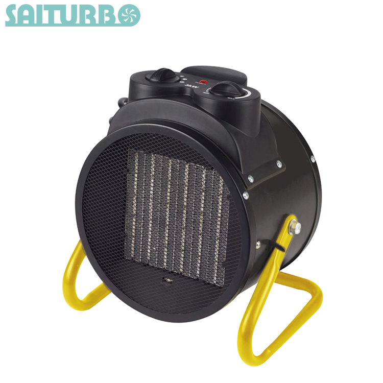 Quality warranty low noise 2kw electric industrial air fan heater for greenhouse