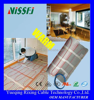 floor heating system use wiring water pipe heating cable. Black Bedroom Furniture Sets. Home Design Ideas