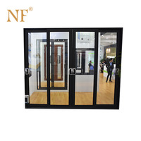 Aluminum sliding triple glazed windows for sale