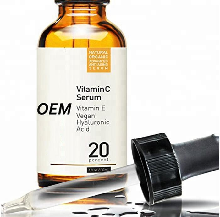 Best Hyaluronic & Vitamin C Serum for Face & Eyes, Organic & Natural Anti Aging