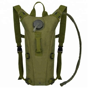 Hot sale 3L 100 ounce Hydration Pack Bladder Water Bag Pouch Hiking Climbing Hunting Running Survival Outdoor Backpack