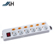 New Design Wholesale German Standard OEM/ODM Detachable Power Strip