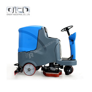 Auto Ride-on Floor Scrubber Machine OR-V7 Commercial Electric Floor Scrubber