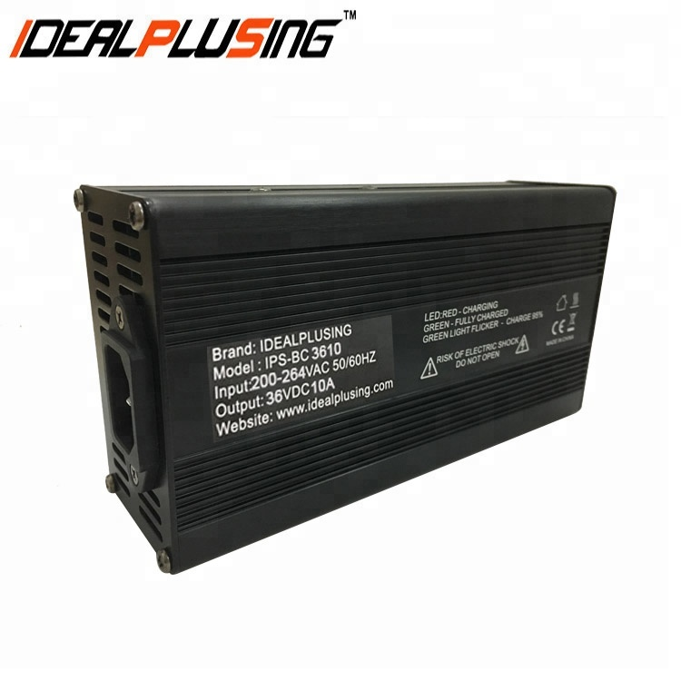 36V 10A Lead Acid , Lithium,Lifepo4 Standard battery charger