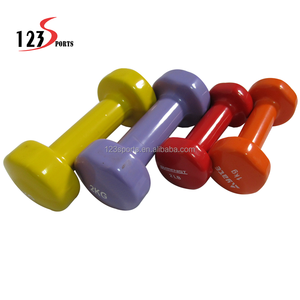 2kg Eco-friendly Neoprene PVC Vinyl Dipping Dumbbell Weight lifting For lady