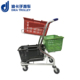 Hot selling supermarket shopping trolley basket trolley