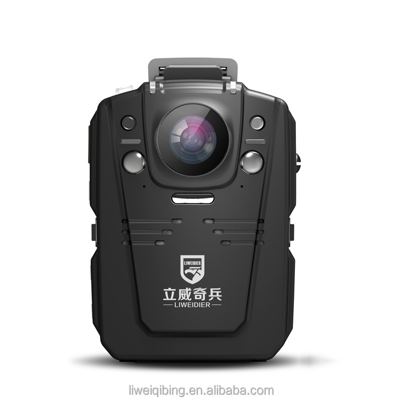 Maximum Pixel 33million Site enforcement recorder 1296P IR 8 hours recording police body worn camera