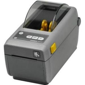 "Zebra Technologies ZD41022-D01W01EZ Series ZD410 Direct Thermal Compact Desktop Printer, 203 DPI, 2"", US Power Cord, USB 2.0, USB Host, BTLE, 802.11AC and Bluetooth 4.0, EZPL"