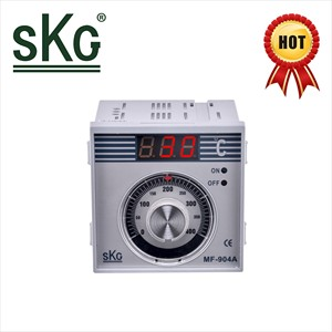 MF904A SKG 0~400 0~200 degree c K type thrmocople analog digital display panel meter electric Pizze bakery oven rotary switch