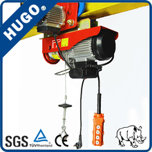 220V mini PA 1000kg electric wire rope hoist price electric cable hoist
