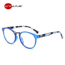 UVLAIK модные брендовые женские очки для чтения мужские очки по рецепту пресбиопические оправы для очков Весенняя петля для зрения Лупа(China)