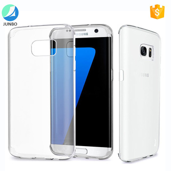 New premium ultra thin waterproof transparent tpu phone case for samsung galaxy s8