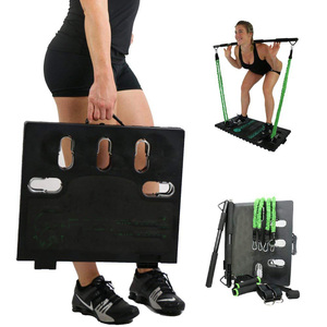 Hot Amazon 4 Parts Multi-purpose Home Exercise Equipments at Home