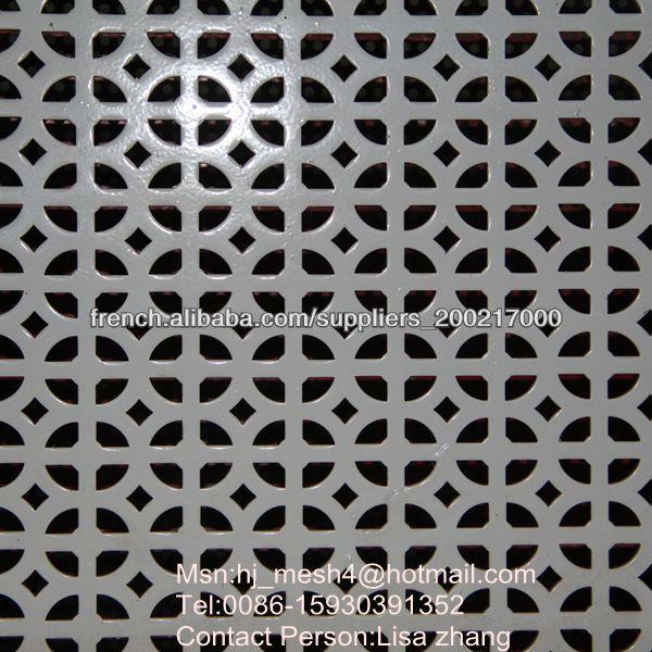 t le perfor e d corative tole perfor e d corative treillis m tallique en aluminium id de produit. Black Bedroom Furniture Sets. Home Design Ideas