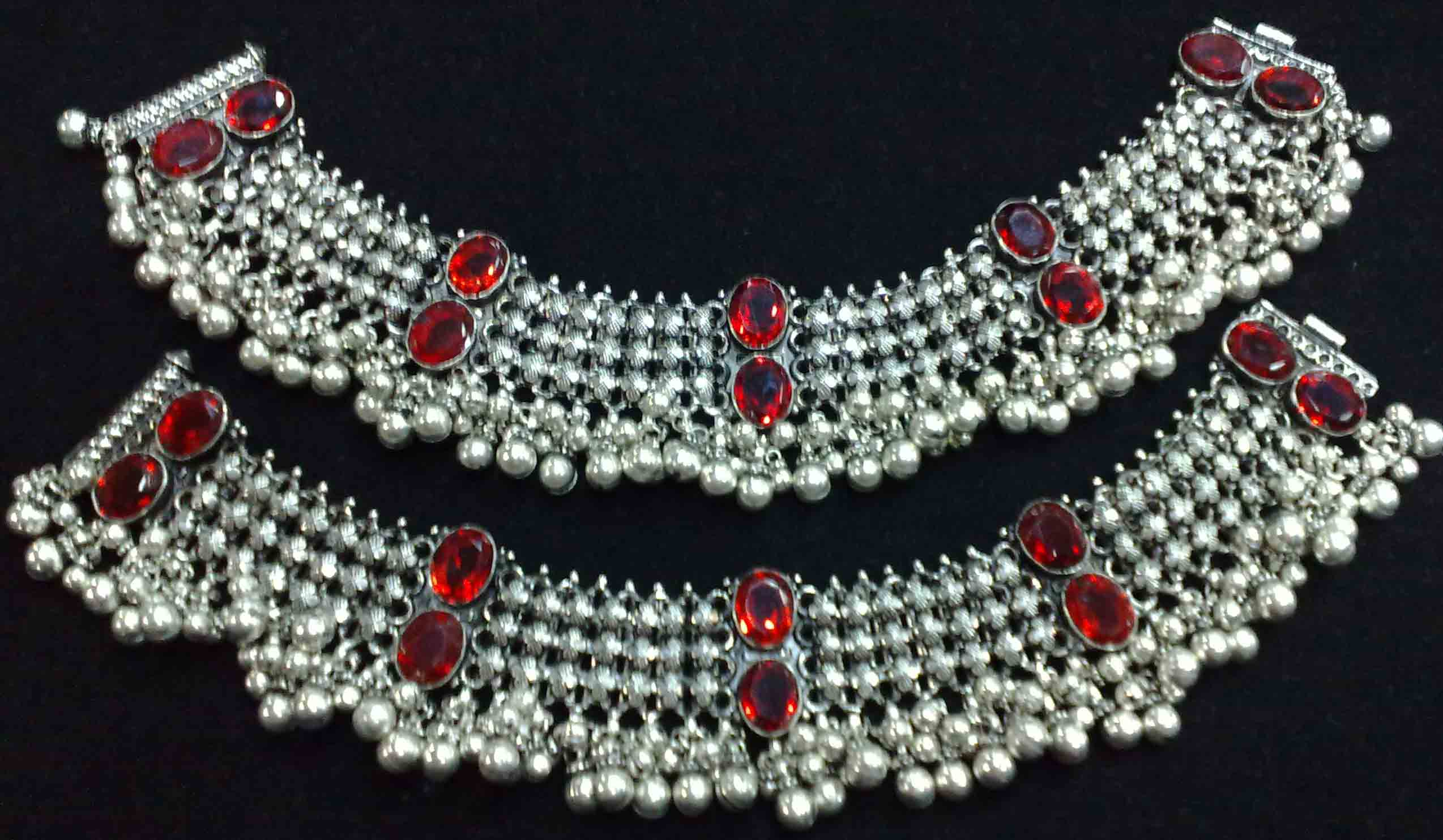 dulhan new anklet silver anklets bride chain gm s payal ankle is image loading itm ebay