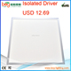diffused lightguid warm yellow light led panel 36w,ww panel led 595*595mm