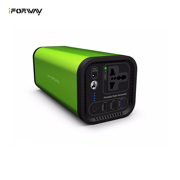 portable mobile solar power generator not gas Pure Sine Wave Power Inverter UPS Li-on Battery CPAP Pack Home Camping