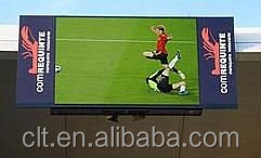 CLT LED football stadium perimeter led screen display outdoor
