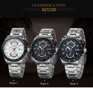 Alibaba Manufacturers Stainless Steel Watch Luxury Man High Quality