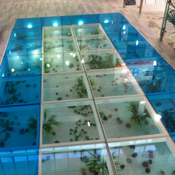 SELL 6 8 10 12 16 20mm Glass Floor Construction High